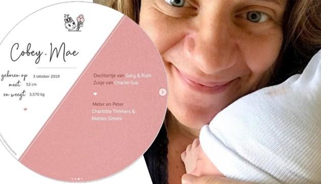 Ruth Beeckmans is bevallen van tweede dochtertje