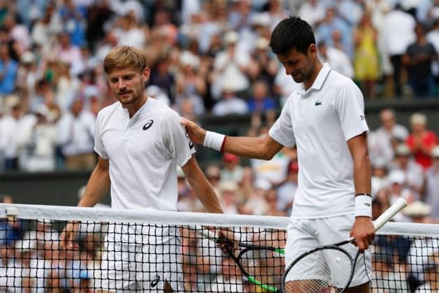 Novak Djokovic wacht David Goffin op in halve finale ATP-toernooi van Tokio