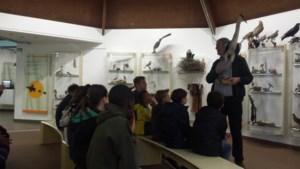 Blauwe Blinkers gaan naar het bosmuseum
