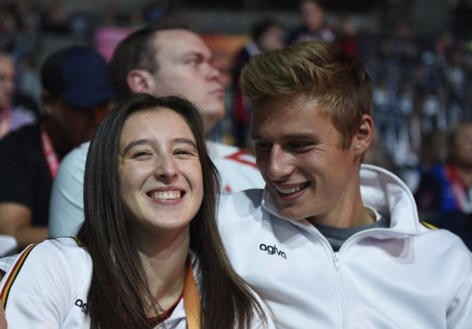 Nina Derwael pakt onverhoopte derde finaleplaats en viert met haar vriend