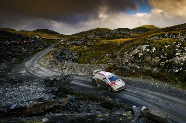 Ott Tänak blijft leider in Rally van Wales, Thierry Neuville schuift op naar plaats drie