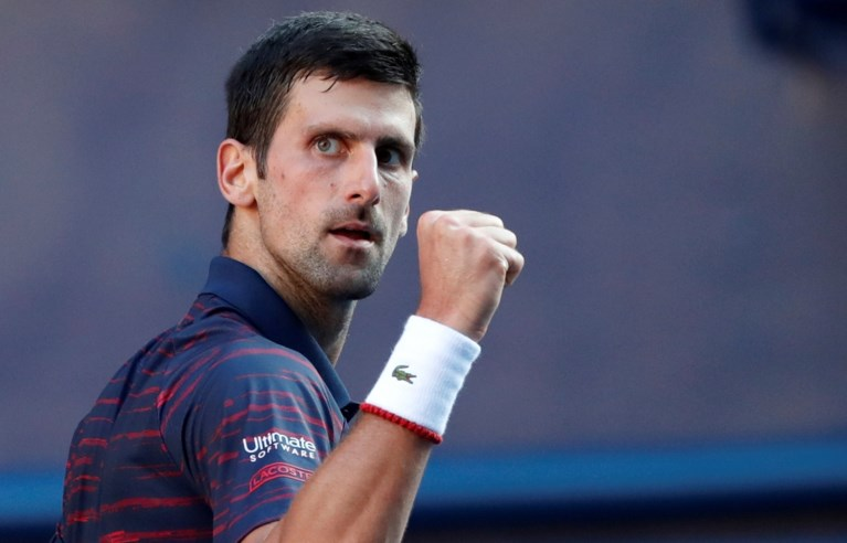 Geen stunt voor David Goffin in Tokio: Novak Djokovic is een maatje te groot