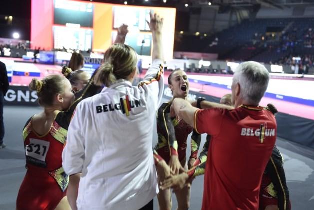 """Prestatie van formaat: België turnt zich met glans naar Tokio 2020: """"De hele gang heeft ons horen juichen"""""""