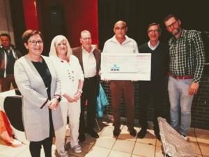 Bewonerskern BOHA schenkt cheque aan De Boomgaard