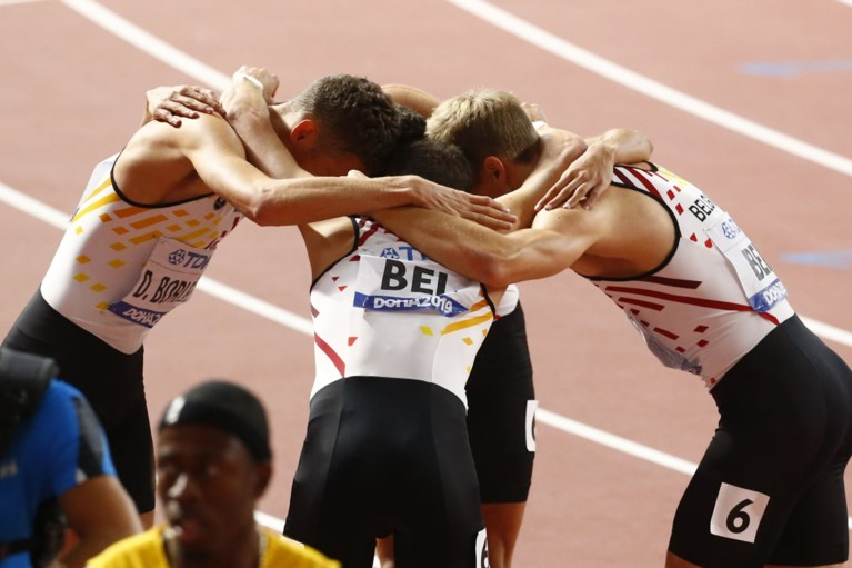 Belgian Tornados pakken brons op 4x400m op WK Atletiek