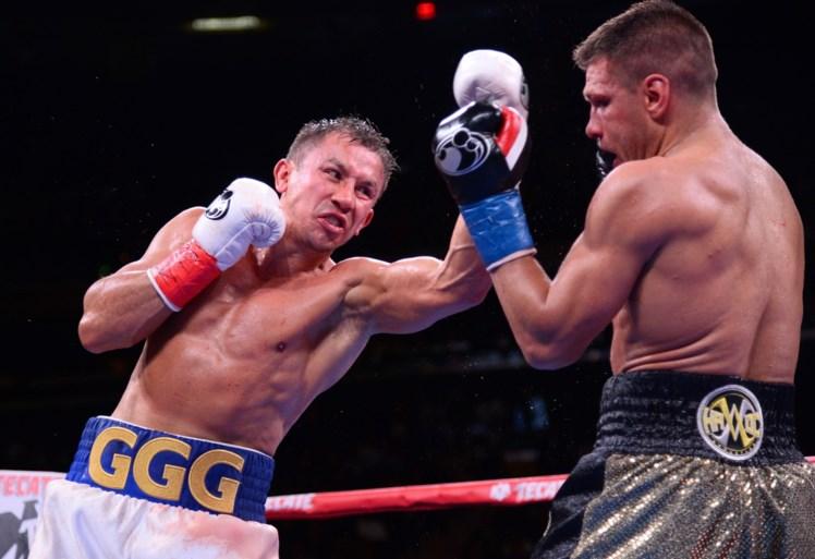 Gennady Golovkin verovert tegen Sergiy Derevyanchenko IBF- en WBO-bokstitel