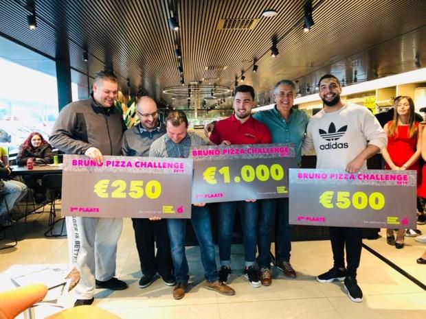 """Heusdenaar wint eerste """"Limburgse Kampioenschap"""" pizza eten in Tessenderlo"""