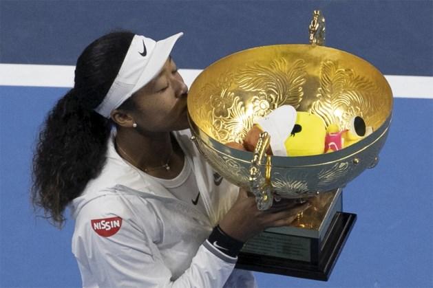 Naomi Osaka houdt Ashleigh Barty van eindzege in Peking, Flipkens meteen out in Linz