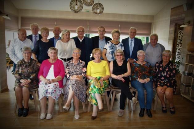 75-jarigen verzamelen in Zepperen