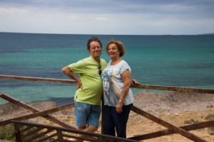 Okra-leden van Beringen en omgeving met Okra Bree naar Mallorca