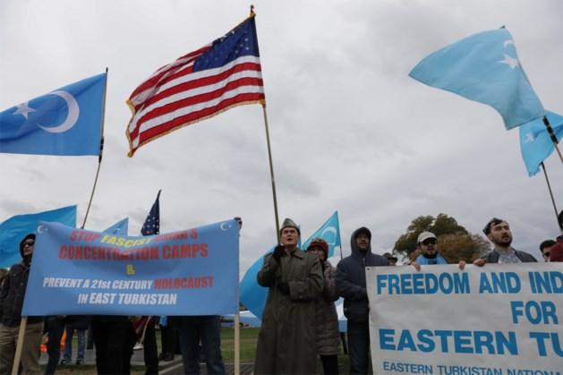 Amerikaanse regering legt Chinese bedrijven sancties op wegens schending mensenrechten