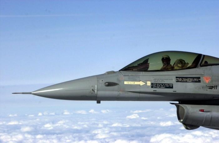 """F-16-piloot uit Kleine-Brogel boven Weert verblind door laser: """"Levensgevaarlijk"""""""