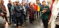 Neos Pelt bezoekt de loge van Brussel