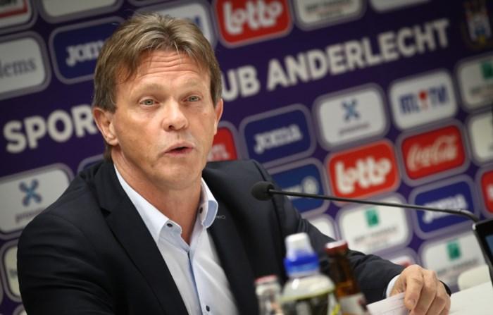 """Frank Vercauteren voorgesteld als hoofdcoach bij Anderlecht: """"De filosofie gaan we niet veranderen"""""""