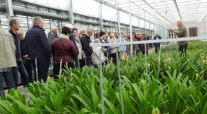 Tuinhier Bocholt op bezoek bij tuinbouwbedrijven