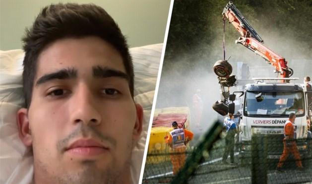 """F2-rijder die dodelijke crash in Spa-Francorchamps overleefde doorbreekt de stilte vanop zijn ziekenhuisbed: """"I'm back"""""""