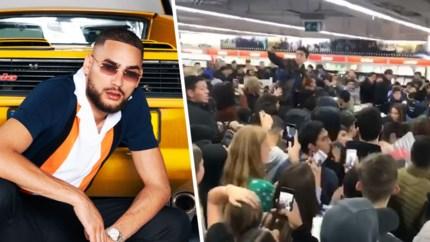 Signeersessie rapper Josylvio in Mediamarkt loopt volledig uit de hand