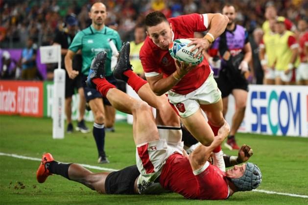 Wales behoudt ongeslagen status op WK rugby