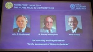 """""""Makers van herlaadbare wereld"""" krijgen Nobelprijs voor Chemie"""