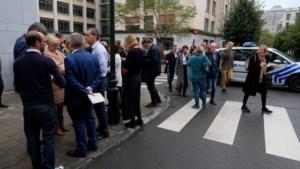 Bomalarm stelt begrotingsdebat weer uit