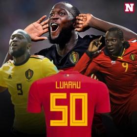 Romelu Lukaku scoort 50ste doelpunt voor de Rode Duivels (en heeft niet veel tijd nodig voor nummer 51)