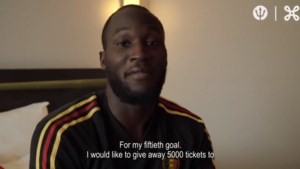 Romelu Lukaku trakteert bij 50e doelpunt voor Rode Duivels met gratis tickets aan goede doelen