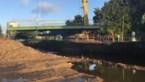 Fietsbrug van 21 ton over de Demer geplaatst