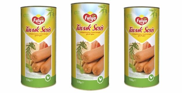 """Terugroepactie kippenworst """"Tavuk Sosis"""" gaat over worsten in blik, niet in plastic"""