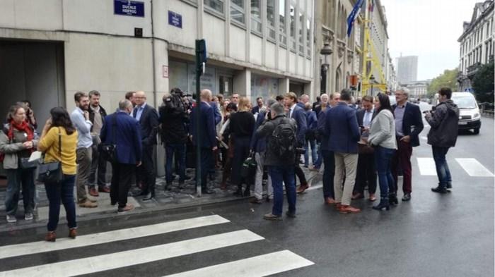 Vlaams Parlement werd nodeloos ontruimd: man die belde dreigde niet met aanslag