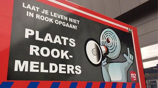Nog geen rookmelder in helft van Belgische woningen
