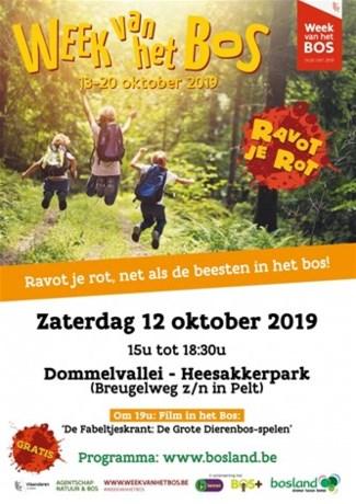 Week van het Bos opent morgen in Bosland in Pelt