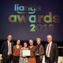 Sthep dienstencheques wint Liantis award 2019