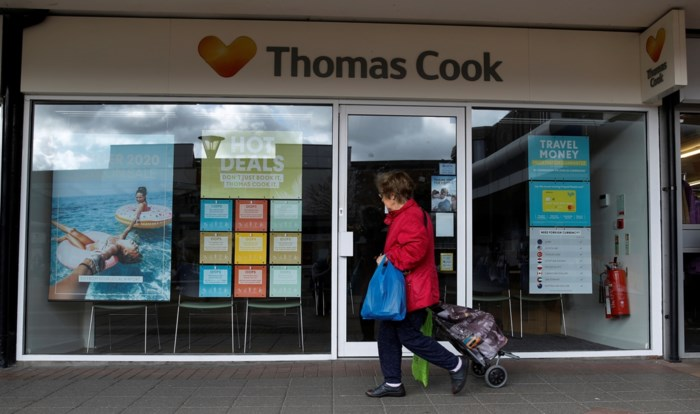 Spaanse reisorganisatie neemt 63 winkels Thomas Cook over, doorstart voor bijna 200 personeelsleden