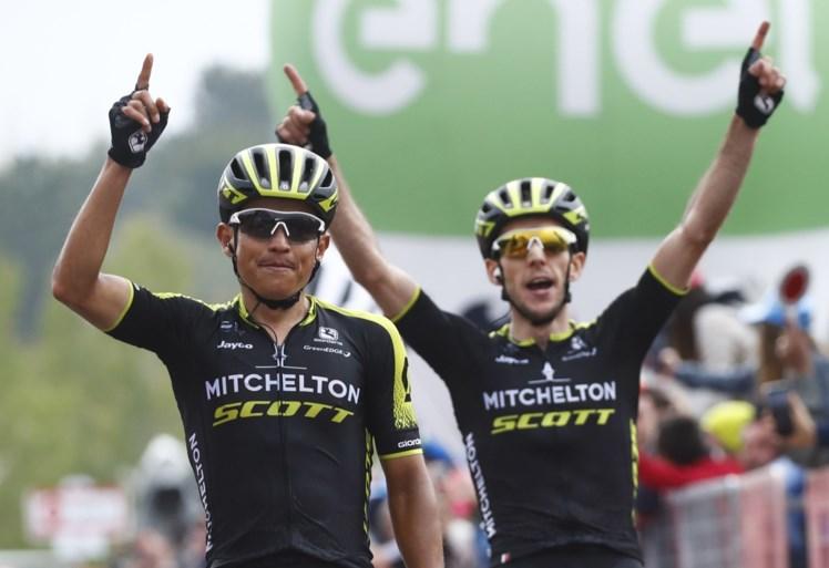 Colombiaan Esteban Chaves langer bij Mitchelton-Scott, Simon Spilak stopt met wielrennen