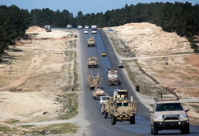 Amerikaanse troepen aangevallen door Turkse artillerie