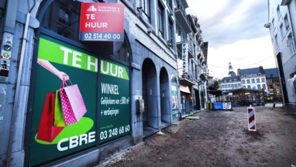 Van alle centrumsteden verdwenen in Hasselt de meeste winkels
