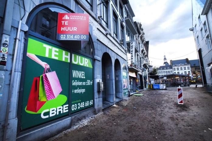 Van alle centrumsteden verdwenen in Hasselt de afgelopen tien jaar de meeste winkels