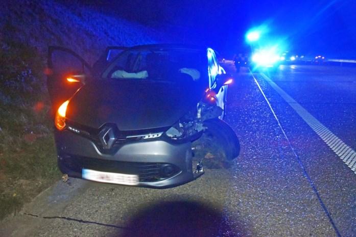 Zevental voertuigen beschadigd na botsing met overstekend everzwijn
