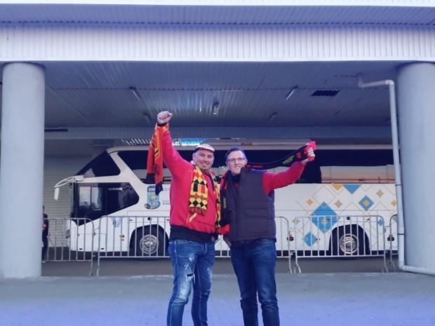 Hasseltse superfans reizen Rode Duivels achterna tot in Kazachstan