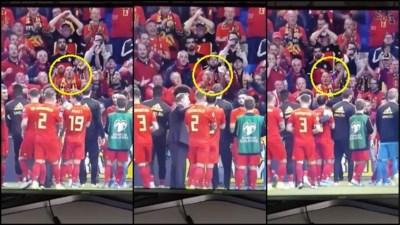 Hasseltse superfan scoort linkerschoen van Eden Hazard