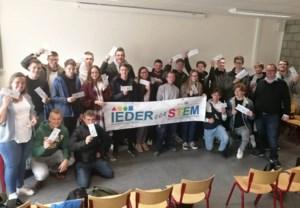 21 leerlingen WICO campus TIO mogen mee met 'De trein der 1000'