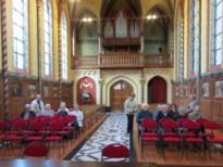 Samana Hoepertingen bezoekt gotische kapel in Wellen