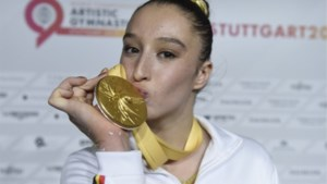 """Gouden Nina Derwael is opgelucht en blij: """"Moeilijk te beschrijven"""""""