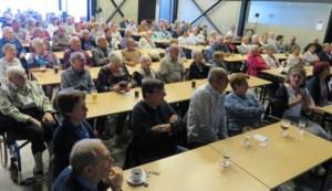 Full house bij ZinInZang in JC De Bilding