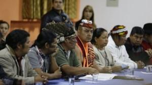 Protesten Ecuador: inheemse leiders eisen vertrek van ministers van Binnenlandse Zaken en Defensie
