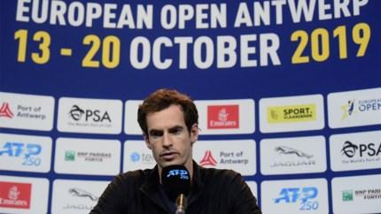 """Andy Murray voor het eerst op European Open in Antwerpen: """"Belangrijkste is dat dit toernooi niet ver van mijn thuis is"""""""
