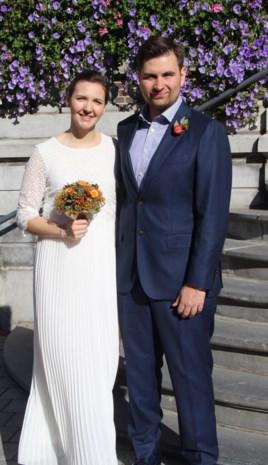 Elise en Gilles in Hasselt