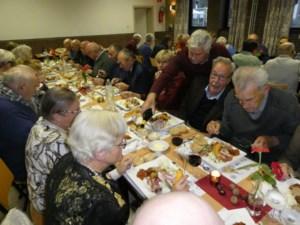 Seniorenclub De Klik viert jaarlijks feest