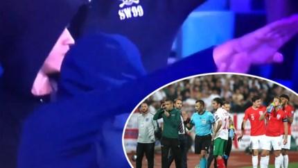 Bulgarije-Engeland twee keer stilgelegd na racisme en nazigroet van fans