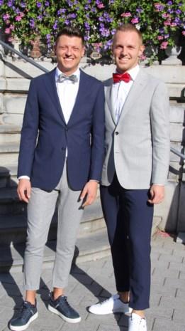 Sven en Danny in Hasselt